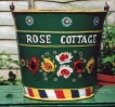 Rose Cottage Bucket