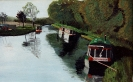 Staffs and Worcs Canal - acrylics SOLD